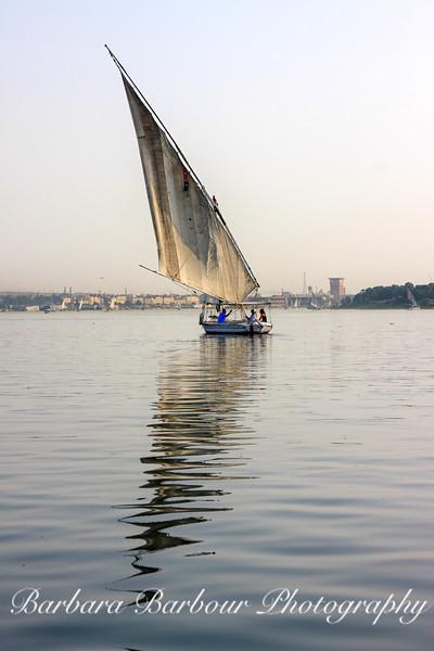 Felluca on NIle 4, Egypt