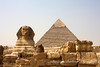 Sphinx front view, Giza, Egypt