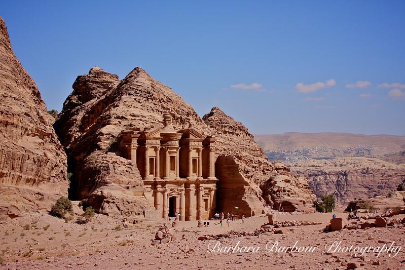 Monastery Facade at Petra, Jordan