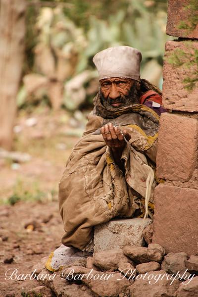 Man, Lalibela, Ethiopia