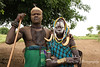 Mursi man and wife