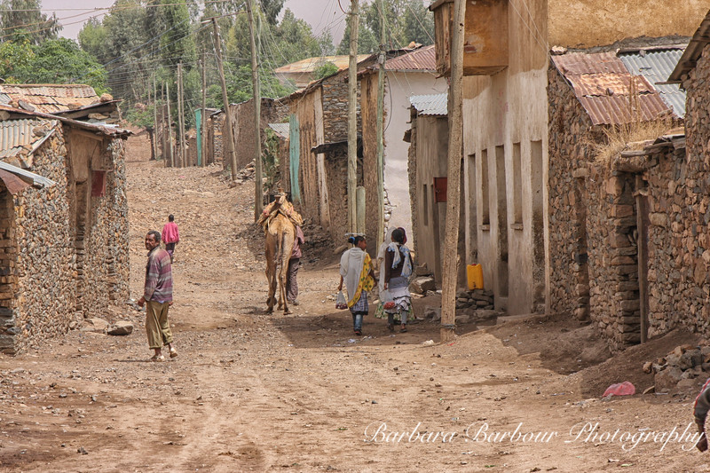 street, Axum