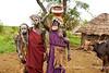 Mursi women, Southern Ethiopia