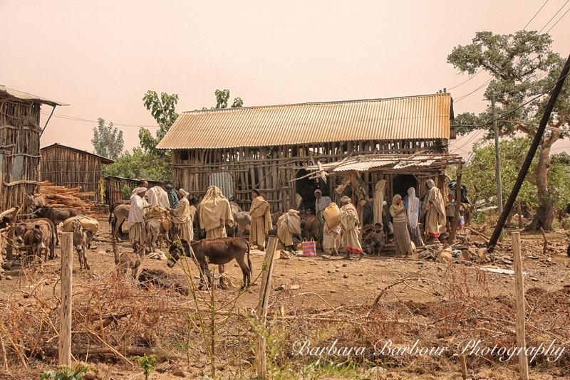 Awra Amba Village, Ethiopia