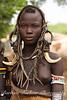 Young woman, Mursi tribe, Ethiopia