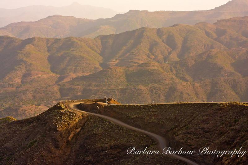 View, Lalibela, Ethiopia