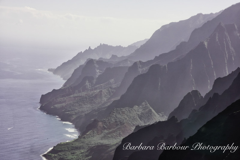 Na Pali Coast, Kauai, from Helicopter