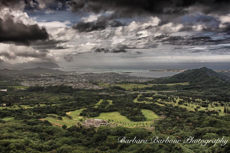 Senic Overlook along Oahu Coast