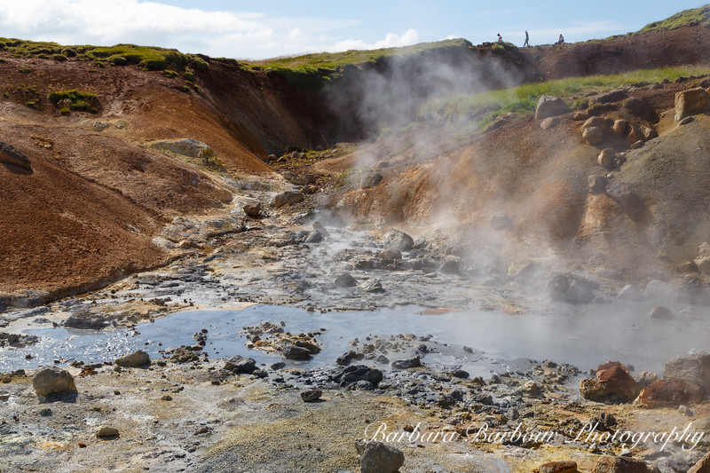 Bubbling Mud Pots, Iceland