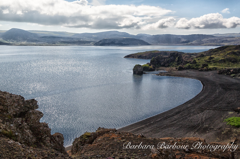 Lake Kleifarvatn, Iceland