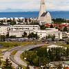 Reykjavik with Hallgriimskirkja Church