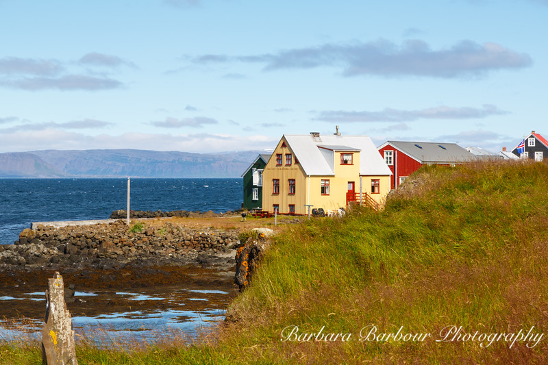 Flatey Island, Western Coast of Iceland