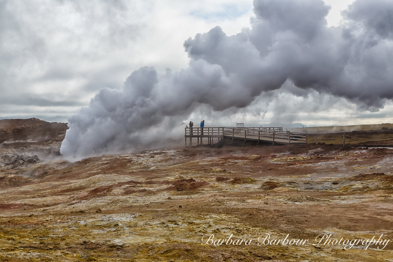 Steam Vents, Iceland
