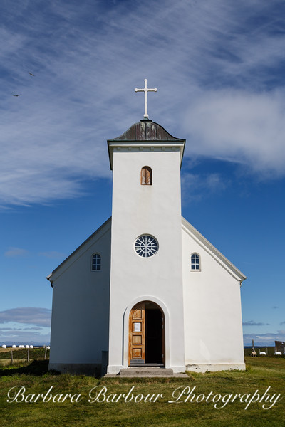 Church at Flatey Island