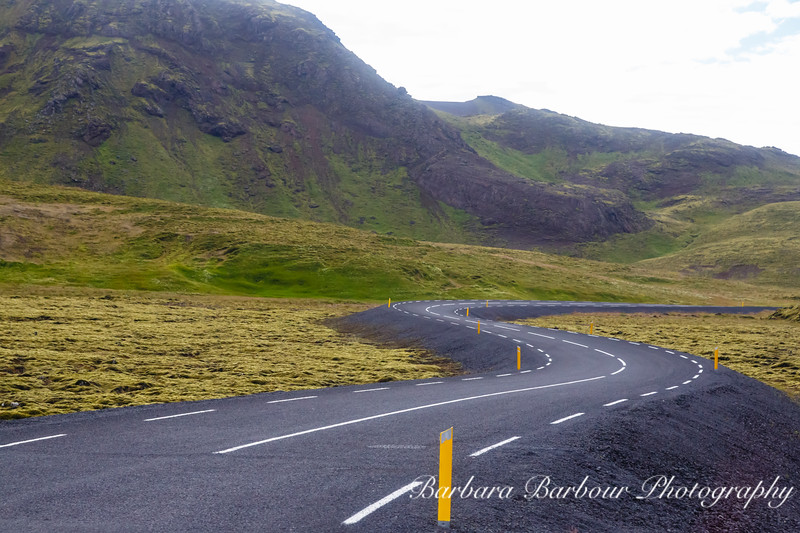 Winding Road, Iceland