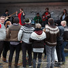 Young Men wearing Icelandic Sweaters in Isafjorour