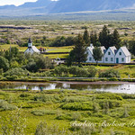 Parliment buildings at Thingvellir National Park