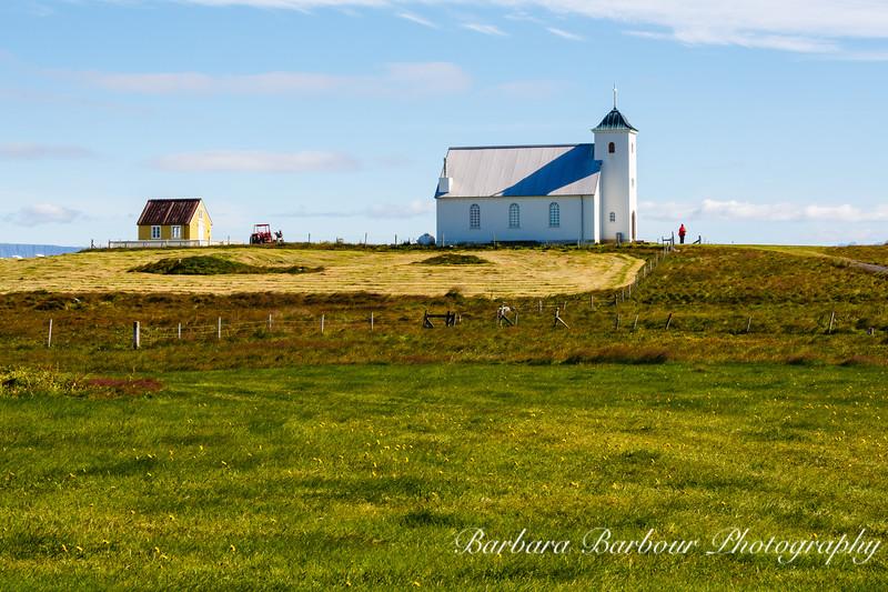 Church at Flatey Island