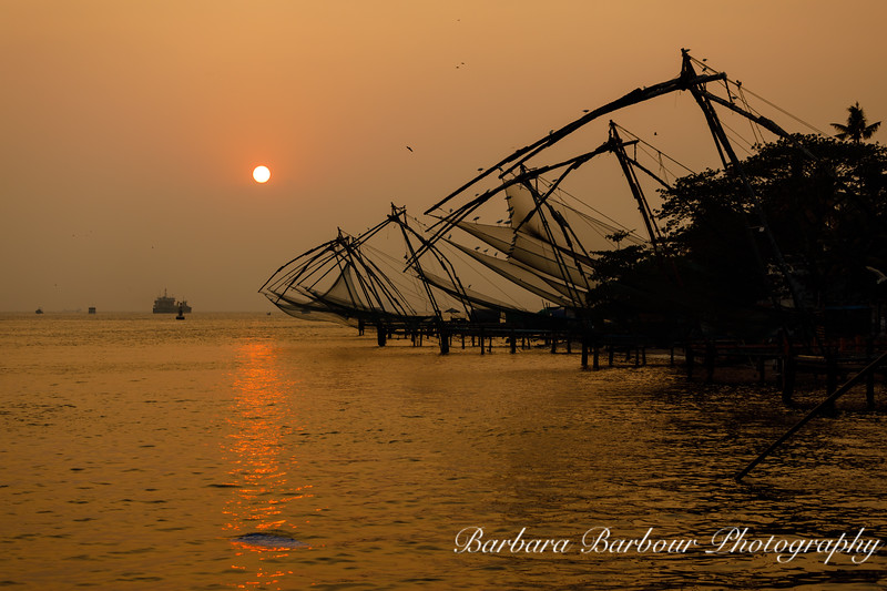 Sunset in Kochi