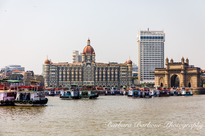 Taj palace and Gateway to India