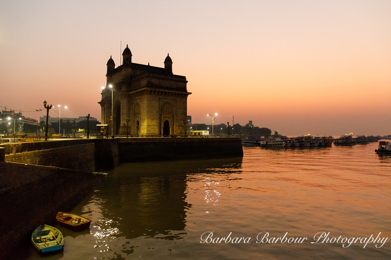 Gateway to India at dawn