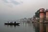 Ganges River at Varanasi, sunrise