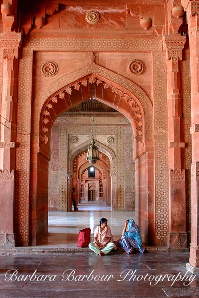 Women Talking, Fatehpur Sikri