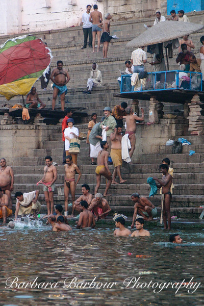 Bathers at the Gnats of the Ganges