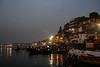 Ghats of Varanasi at Sunrise