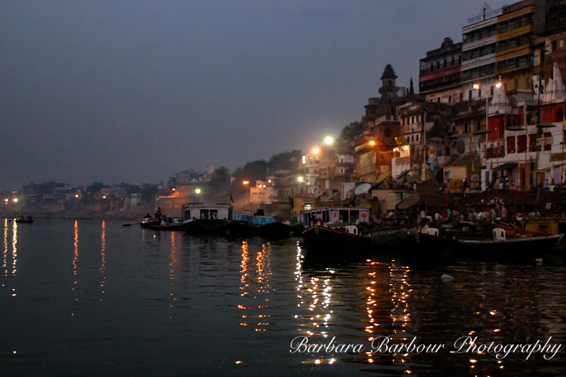 Gnats of Varanasi, sunrise