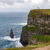 Great sea stack, Branaunmore, Cliffs of Moher