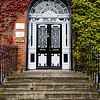Door in Dublin, Embassy of Peru