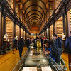 Long Room library at Trinity College