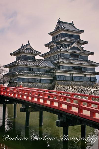 Matsumoto Castle, far