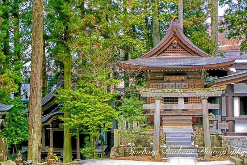 Shrine in Takayama, Japan