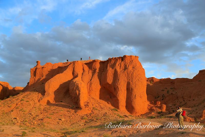 Flaming Cliffs, Gobi Desert
