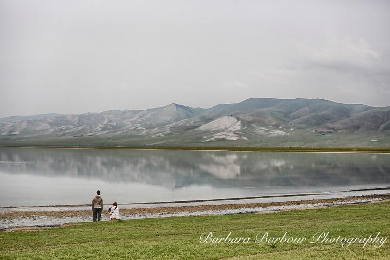 Salt Water Lake, Hovsgol Province. Mongolia