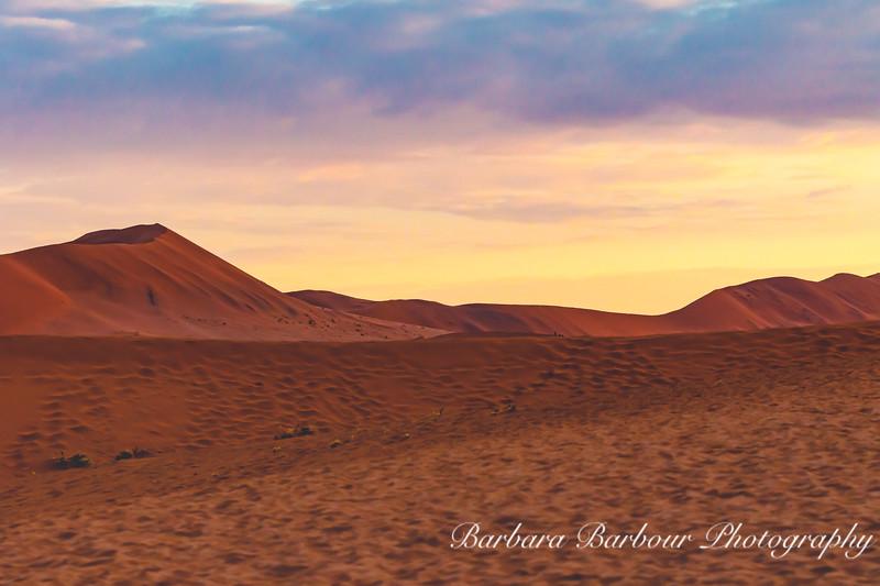 Sand Dunes at Namib-Nauukluff National Park, Sossusvlei