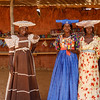 Herero women at roadside market