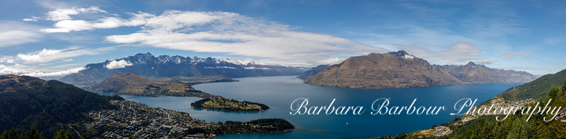 Panorama of Queenstown