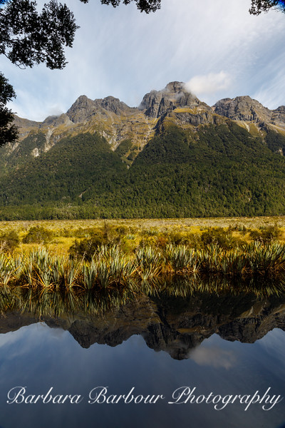 Mirror Lake, New Zealand