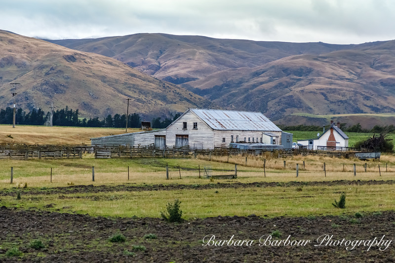 Farm house in South Island, NZ