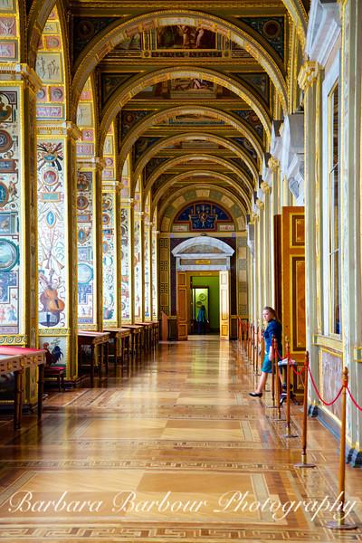 Loggia Hallway, Raphael, Hermitage, St Petersburg, Russia