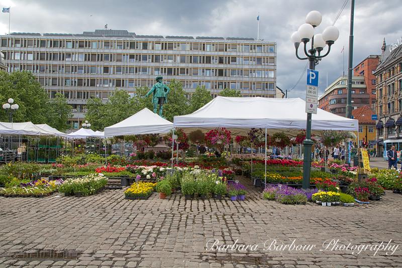 Flower Market, Oslo, Norway
