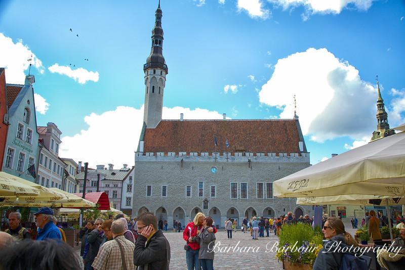 Town Hall Square, Tallinn, Estonia