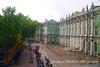 Hermitage exterior, St Petersburg, Russia
