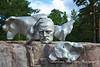 Sculpture honoring Sibelius, Helsinki, Finland