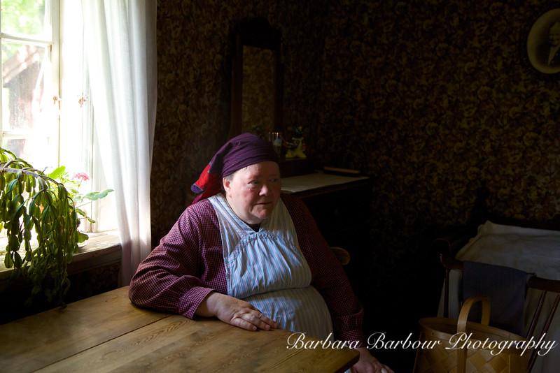 Woman in Skansen, Stockholm, Sweden