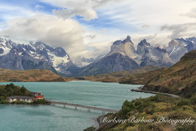 "View of ""horns"" in Torre Del Paine National Park, Chile"