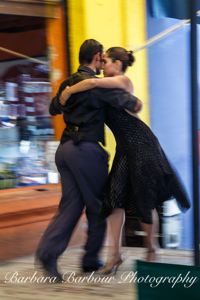 Tango street dancers, Buenos Aires, Argentina